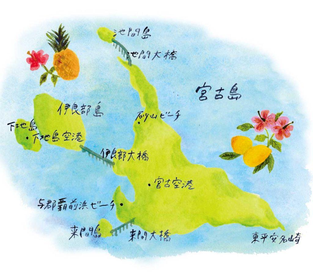 宮古島MAPWEB